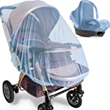 Mosquito Net for Stroller - 2 Pack Durable Baby Stroller Mosquito Net - Perfect Bug Net for Strollers, Bassinets, Cradles, Pl