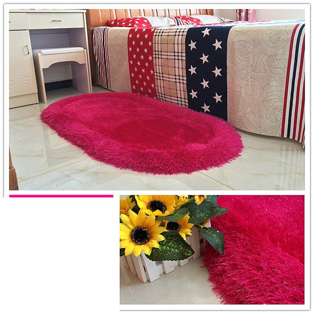 Bed bed blanket Cute children's room rugs Bedroom wall-to-wall carpet-A 70x140cm(28x55inch)