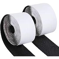 ilauke plakband, 50 mm × [3 m mannelijk, 3 m vrouwelijk] plakband, klittenband, Hook Loop, zelfklevend, voor organisatie…