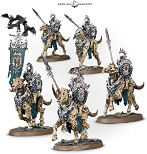 Warhammer AoS - Ossiarch Bonereapers Kavalos Deathriders