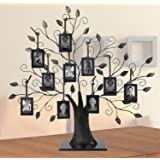 Large Family Tree with 10 Hanging Photo Frames