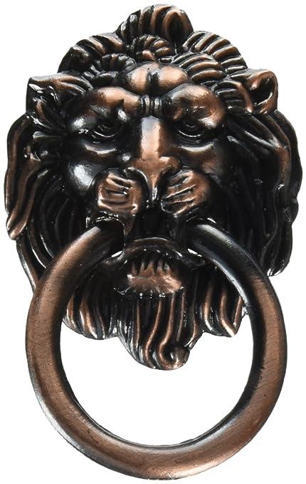 Amazon Lion Head Vintage Brass Cabinet Cupboard Door Pull