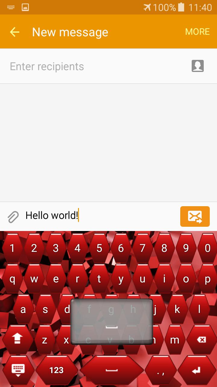 Teclados de color rojo: Amazon.es: Appstore para Android