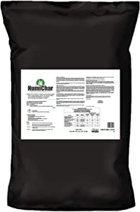 The Andersons HumiChar Organic Soil Amendment with Humic Acid and Biochar - Covers up to 40,000 sq ft (40 lb)