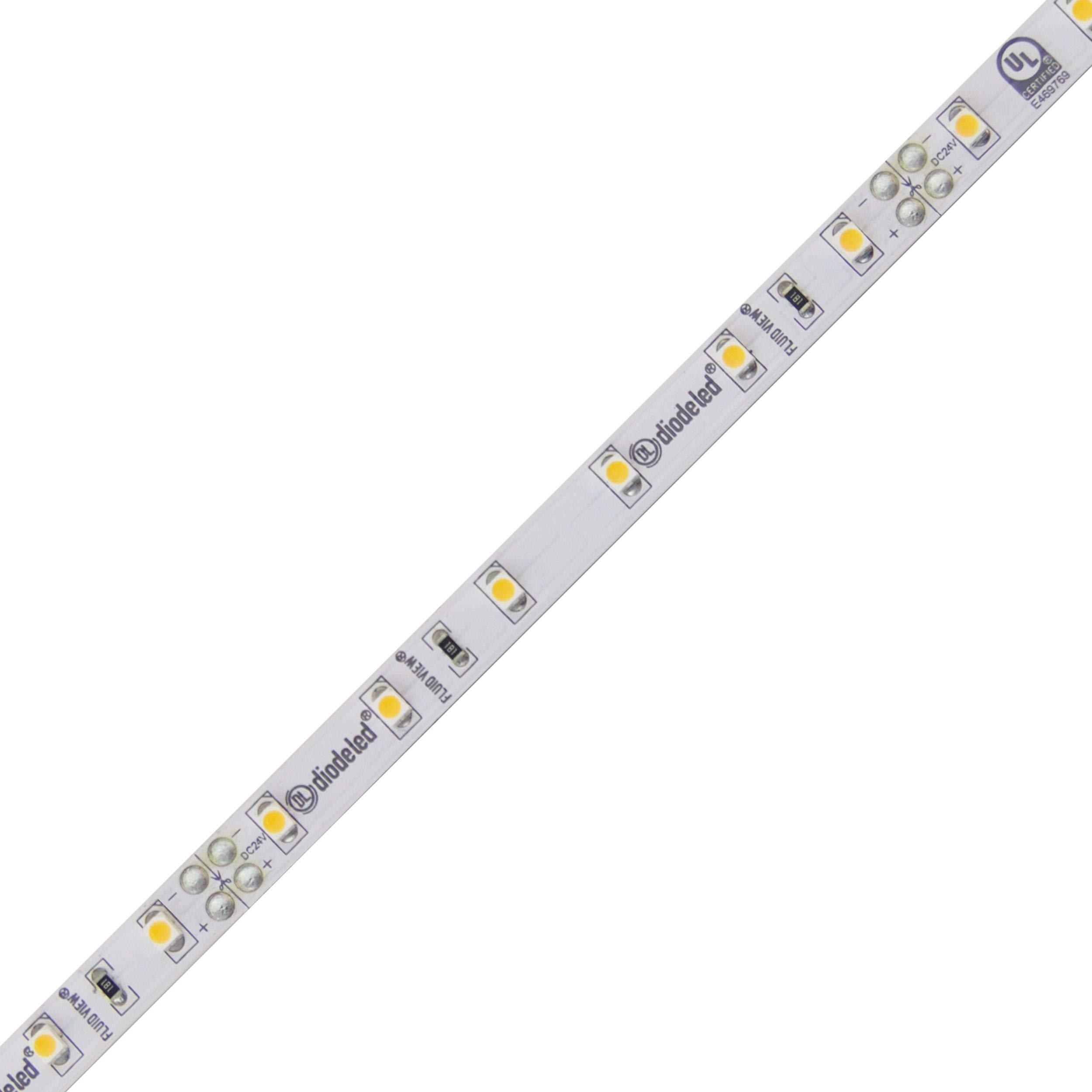 FLUID VIEW LED Tape Light 24V 2850K 92 CRI 16.4ft 1.44W/ft