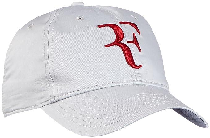 ed864d52c5 Amazon.com: Mens Nike Premier RF Hybrid Adjustable Tennis Hat Dusty Grey/Gym  Red 371202-065: Clothing