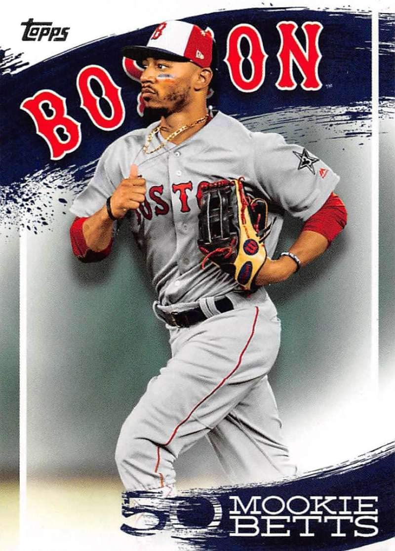 2019 Topps Mookie Betts Highlights ...