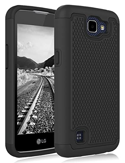 buy popular 522fb 0fdcc LG Rebel LTE Case, LG Optimus Zone 3 Case, LG Spree Case, LG K4 Case,  Jeylly Shock-Absorption Dual Layer Defender Protective Case Cover For LG K4  ...