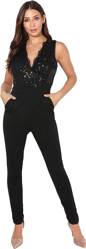 Krisp Mono Mujer Invitada Boda Elegante Barato Fiesta Noche Tallas Grandes Pitillo Vestir Amazon Es Ropa Y Accesorios