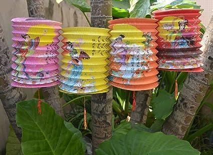 Decorazioni Con Lanterne Cinesi : Dmtse lanterne cinesi decorazione per capodanno cinese e