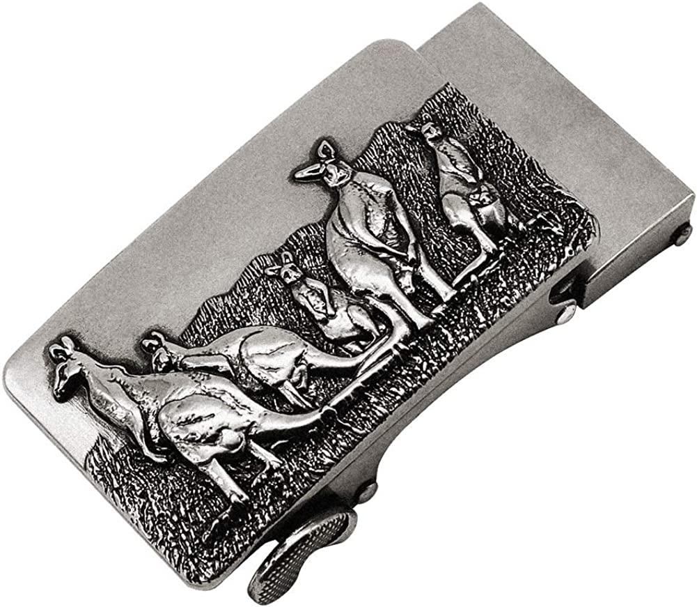 Flyty Mens Retro Copper Belt Buckle Animal Cool Western Belt Buckle for Teen Boys Daily Alloy Belt Buckle