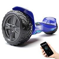 "8.5"" Self-Balance Scooter Bluewheel HX500 - Farbanpassung mit App – Bluetooth Lautsprecher – Starker Dual Motor – LED – Elektro Board E-Skateboard"
