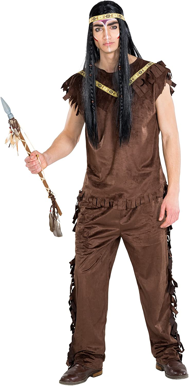 TecTake dressforfun Disfraz de Indio Cherokee para Hombre | Parte ...