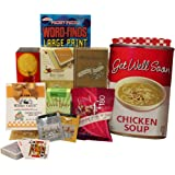 Art of Appreciation Gift Baskets Get Well Soon Chicken Soup Tote Gift Bag