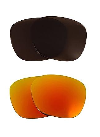 1f51a3a545 New SEEK OPTICS Replacement Lenses Oakley GARAGE ROCK - Brown Yellow ...