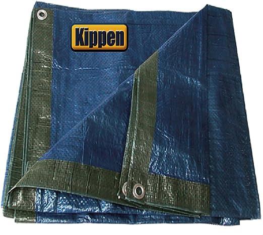 3/x 4/mt. Kippen 6056b1/ verde//azul /Lona occhiellato