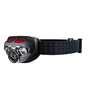 エナジャイザー LED ヘッドライト HDL250 ブラック (明るさ最大250ルーメン/点灯時間最大50時間) HDL2505BK