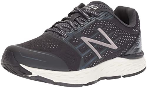New Balance Womens 680v5 Cushioning Running Shoe, Phantom, ...