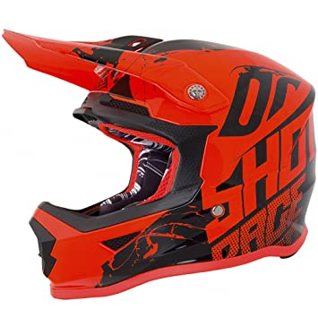 Shot 2018 Furious juventud Venom MX Off Road Enduro – Casco de motocross, color naranja