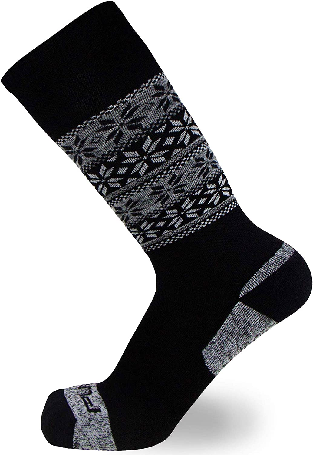 Kids Alpaca Wool Ski Socks - Warm Wool Ski Sock for Boys, Girls - Skiing, Snowboarding