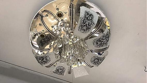 Lampen En Licht : Deckenleuchte flammig halogen lampe licht wohnzimmerleuchte
