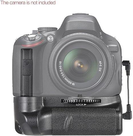 Andoer® BG-2G Empuñadura Vertical Battery Grip para Nikon D5100 ...