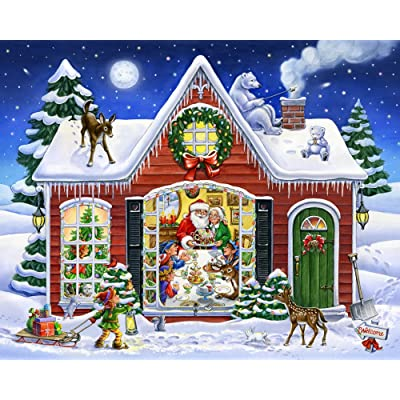 Christmas Feast Jigsaw Puzzle 1000 Puzzle: Toys & Games
