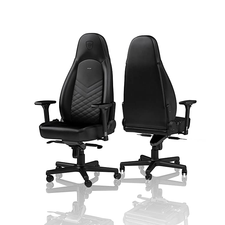 noblechairs ICON Gaming Chair Office Chair 330 lbs Arm Rests Racing Seat Design Black