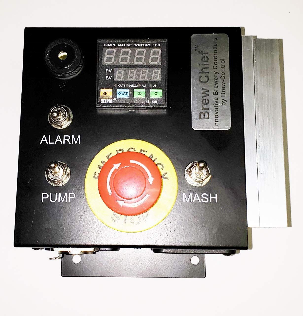 International 220/230/240v 50/60 Hz Mash Tun/RIMS (Recirculating Infusion Mash System) Tube Controller by Stir-Plate (Image #2)