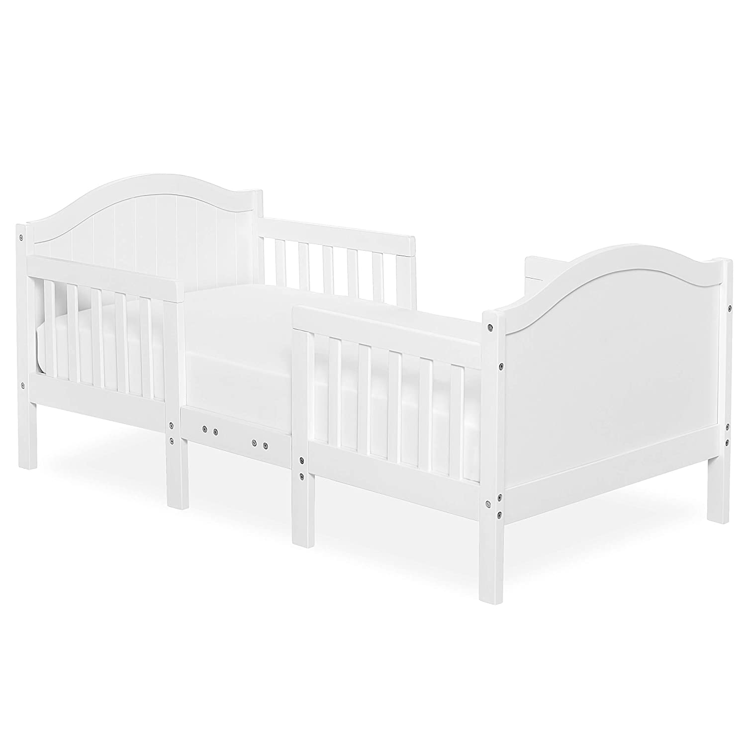 Dream On Me, Portland 3-in-1 Convertible Toddler Bed, White
