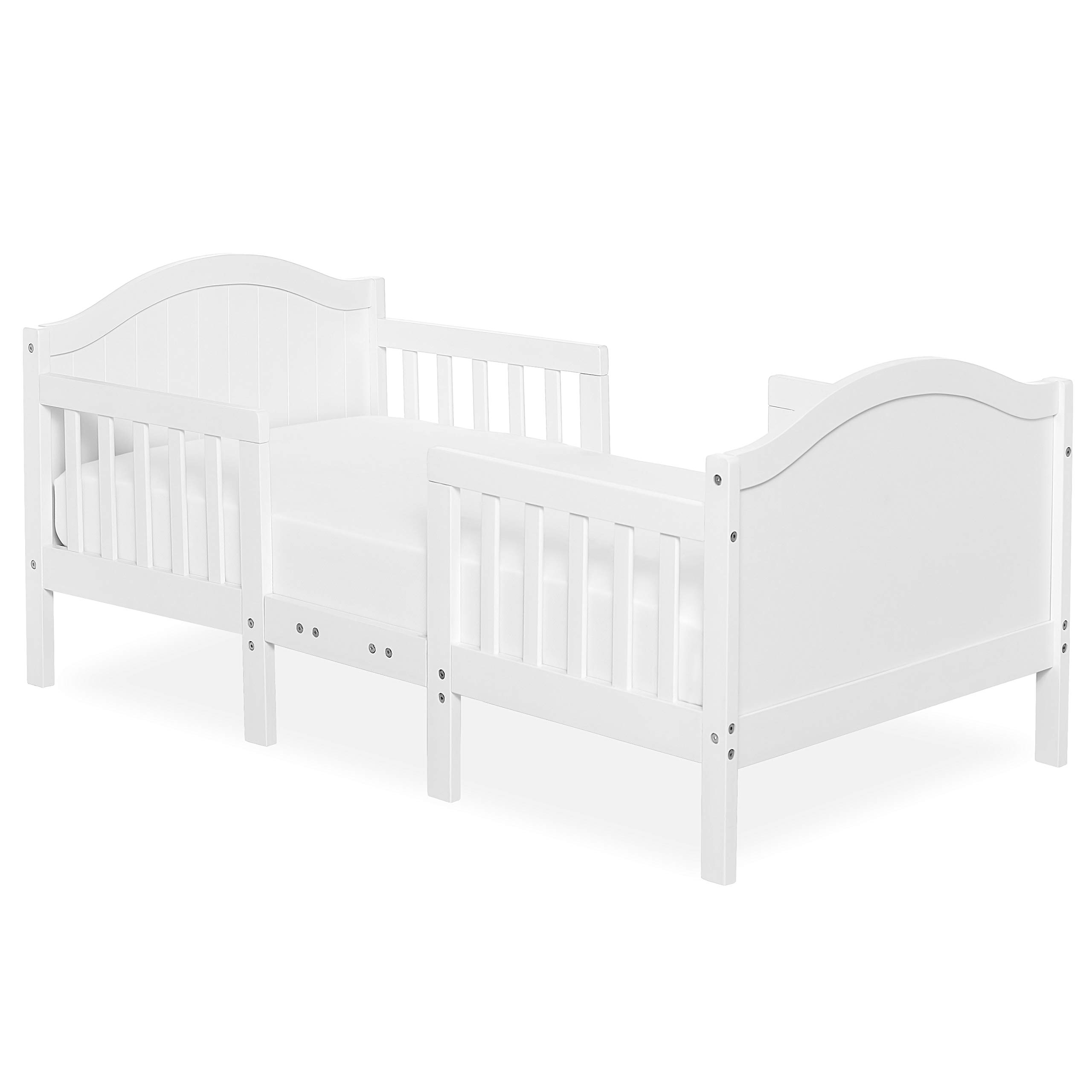 Dream On Me Portland 3 In 1 Convertible Toddler Bed, White by Dream On Me