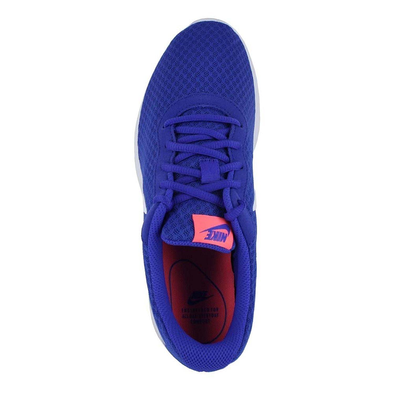 NIKE Women's Blue Tanjun Running Shoes B01HN3GDVG 12 B(M) US|Paramount Blue Women's White Lava Glow 3e0226