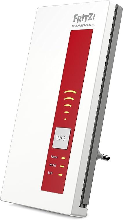 Avm Fritz 1750e Wlan Repeater Rot Weiß Computer Zubehör