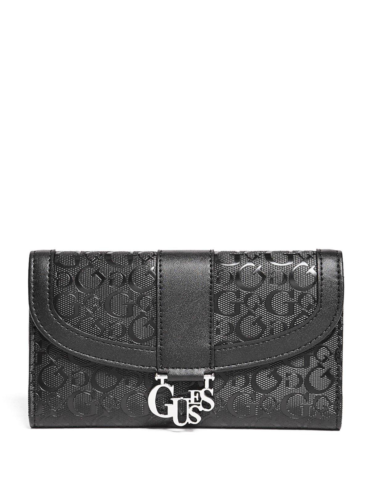 GUESS Factory Women's Hemlock Logo Slim Wallet