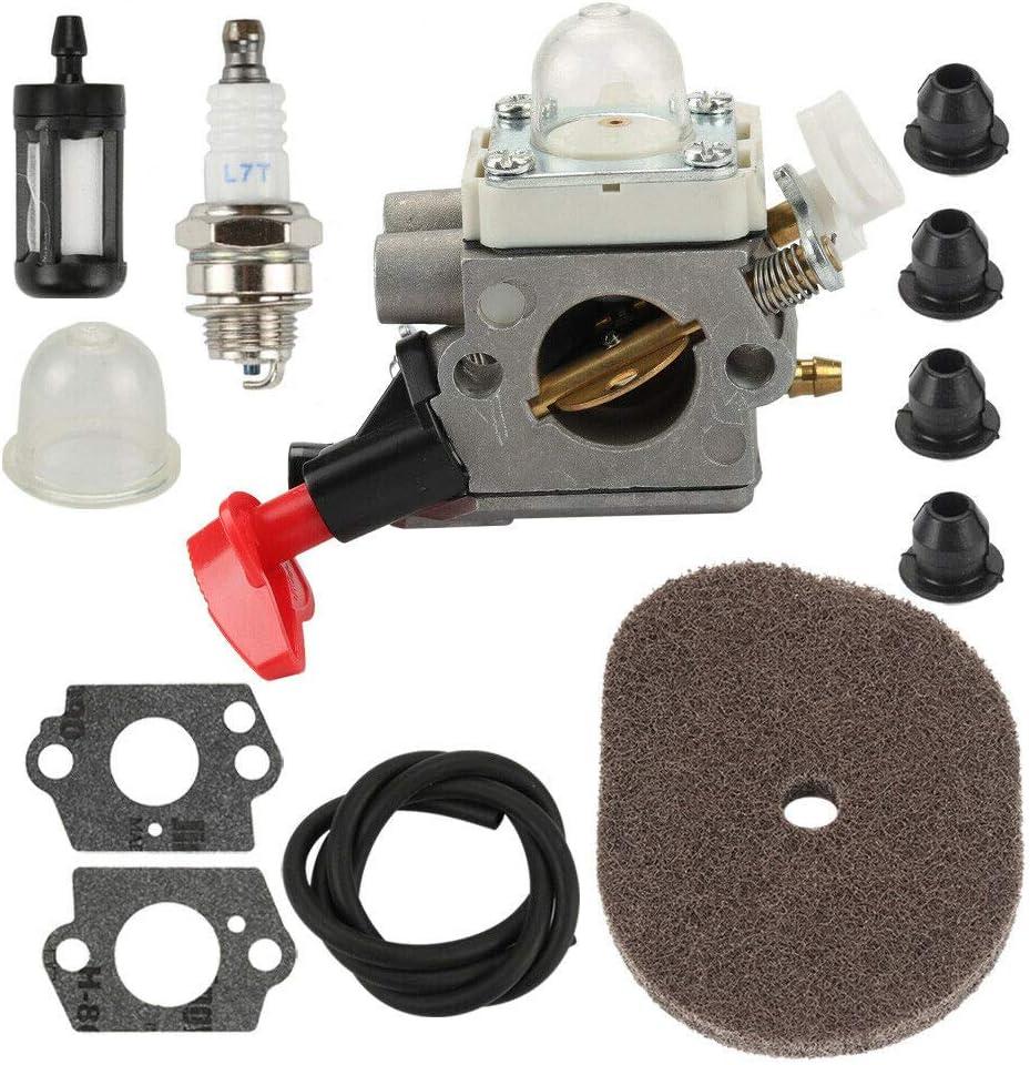 Carburetor Tune Up Kit for Stihl HT56 KM56 KN56 FS56C FC70C Air Fuel Filter