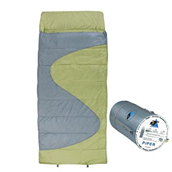 10T Outdoor Equipment Piper Saco de Dormir de Manta, Azul, Estándar: Amazon.es: Deportes y aire libre