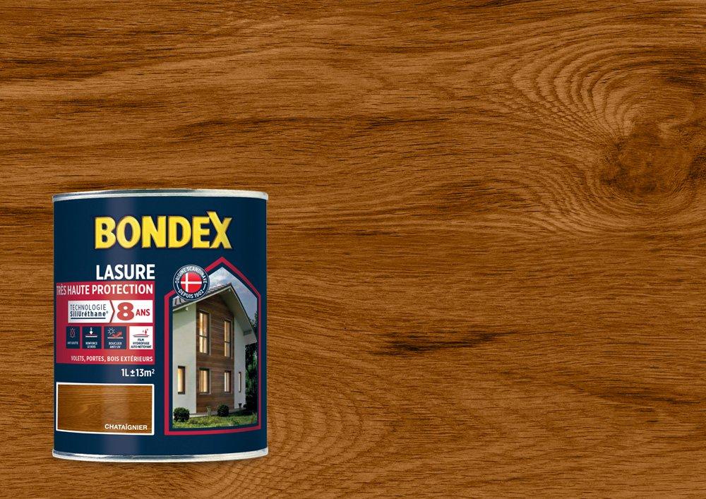Lasure Haute Protection 8 Ans, Bondex - Teck Satin, 1L PPG 364212