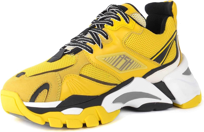 Ash Flex Zapatillas de Deporte de Ante y Malla Amarillas 41 Yellow.: Amazon.es: Zapatos y complementos