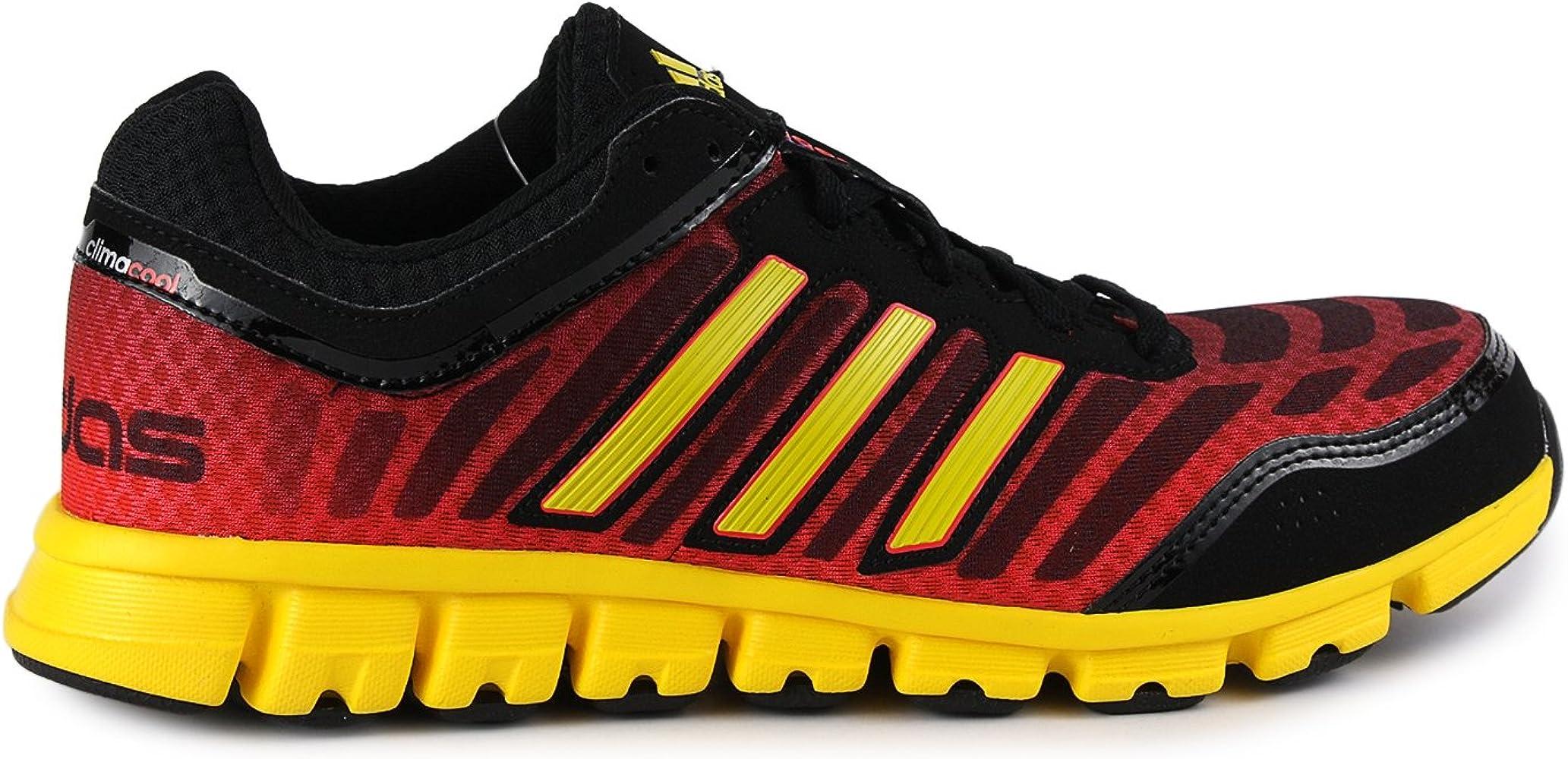 Amazon.com | adidas New Climacool Aerate 2 Black/Yellow Mens 13 ...