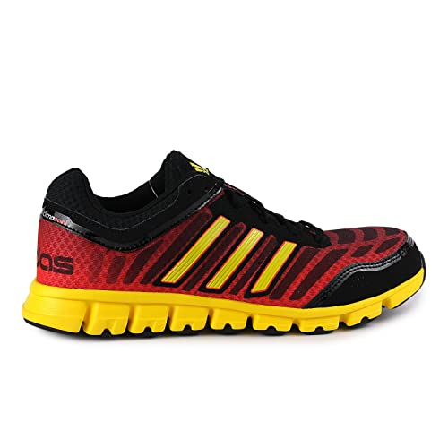 Adidas Climacool Aerate 2 Running Shoe - Black/Yellow/Red (Mens ...