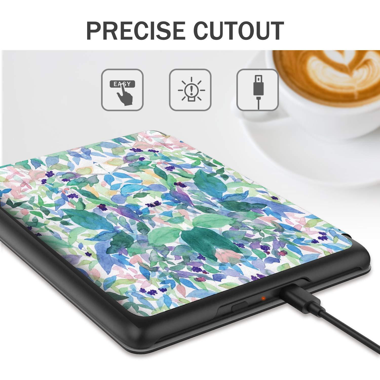 Slim Cover Housse de Protection pour New Kindle 10th Generation, 2019 10th Generation, 2019 Bleu IVSO Coque Etui Housse pour Nouveau Kindle