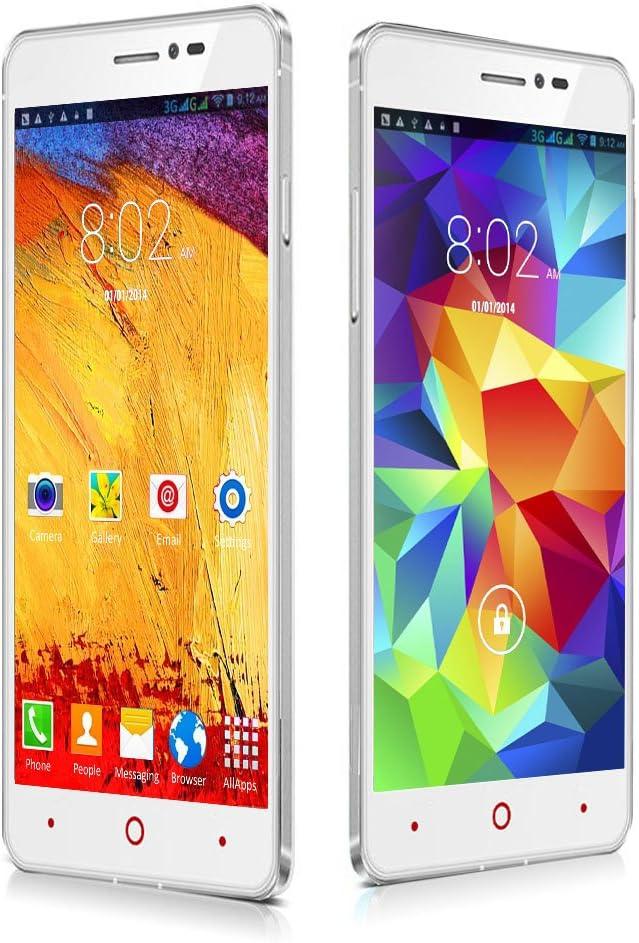 Indigi® Nuevo. 3 g Smartphone 5,5 en Android phablet (SIM Libre Desbloqueado) at & T/T-Mobile/Straightalk/EE/O2/Vodafone/Orange: Amazon.es: Electrónica