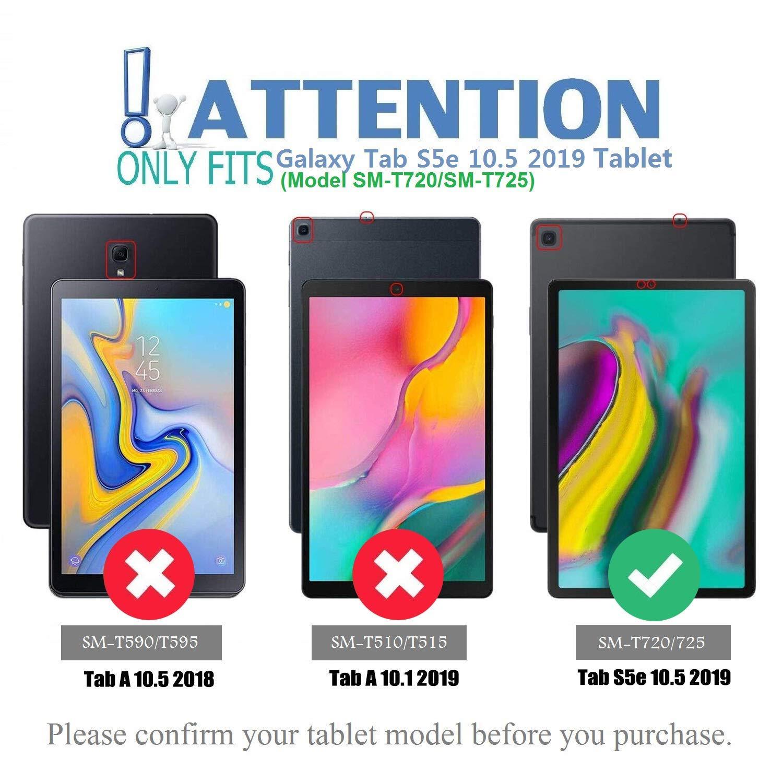 Wineecy Galaxy Tab S5e 10.5 Teclado Funda SM-T720//T725 Funda de Cuero con Desmontable Inal/ámbrico Bluetooth Teclado para Samsung Galaxy Tab S5e 10.5 2019 QWERTY Galaxy Tab S5e 10.5, Pink