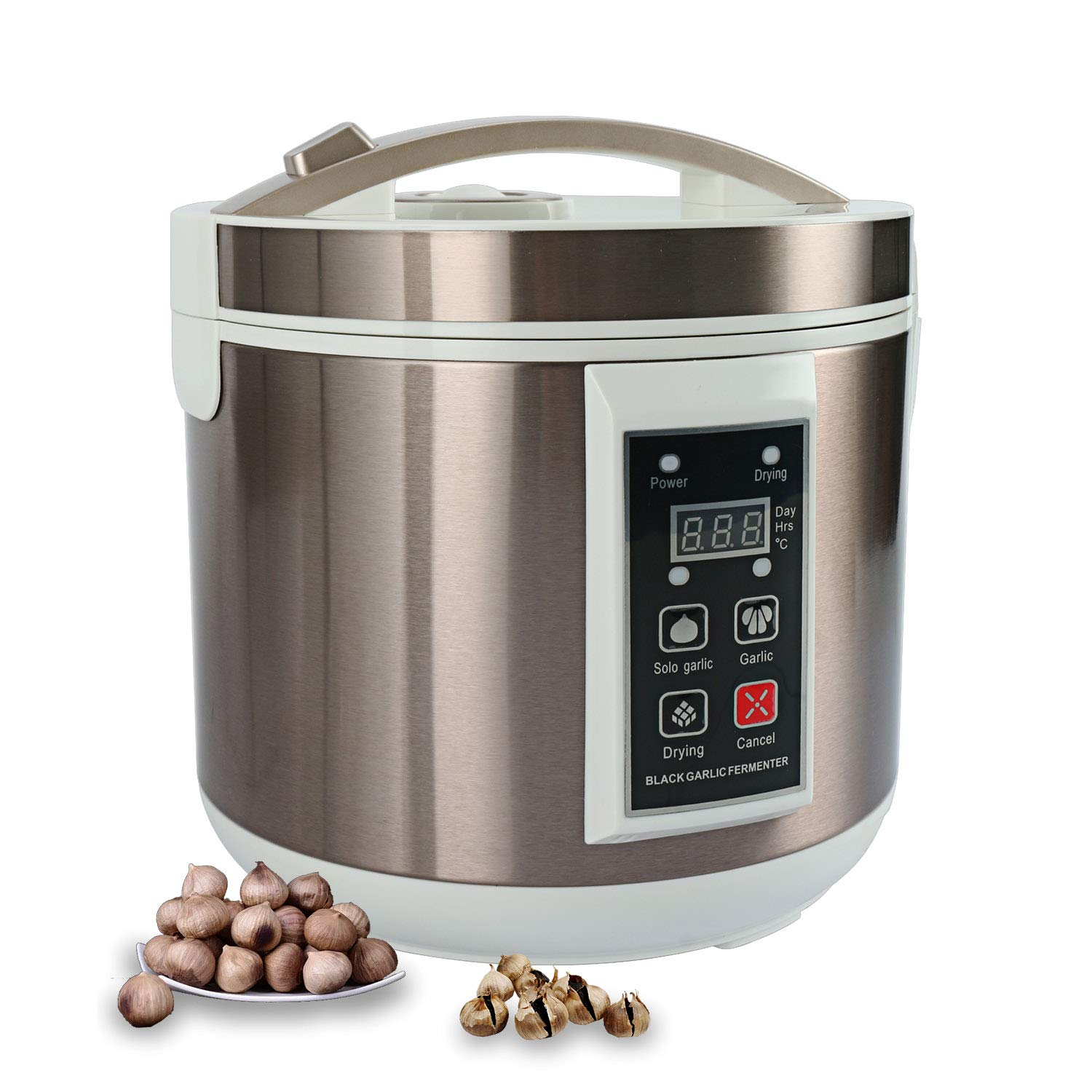 Homend 5L Black Garlic Fermenter Full Automatic Intelligent Control Garlics Maker Multiple Clove Garlic DIY Cooker