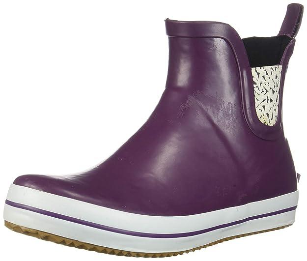Kamik Women's SHARONLO Rain Boot, Violet, 6 M US