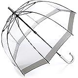 Fulton Birdcage - Paraguas Transparente Gris