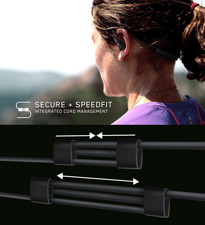 Bluetooth Gold Portata di 10 m Jaybird Freedom 2 Auricolari Wireless per Lo Sport con Speedfit