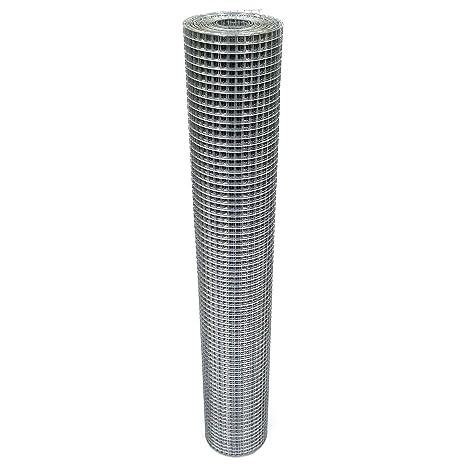 Volierendraht 100cm 16x16mm Maschendraht 4-Eck Verzinkt Drahtgitter (10m, 1,00mm)
