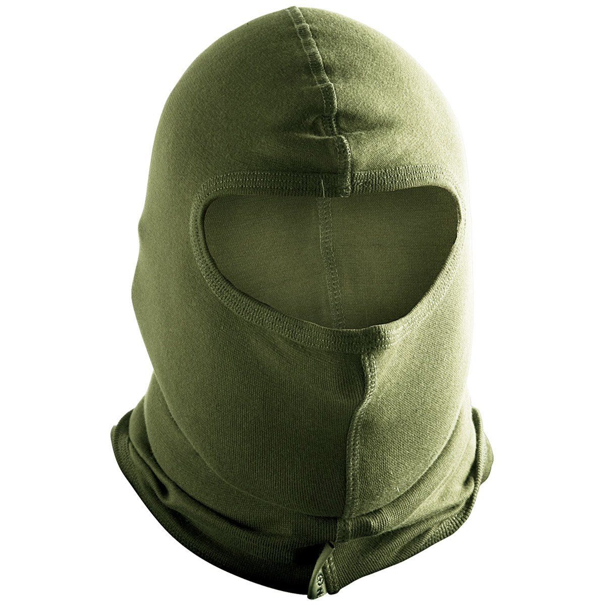 Helikon Tactical Combat 1 Hole Balaclava Cotton Mask Airsoft Paintball Olive
