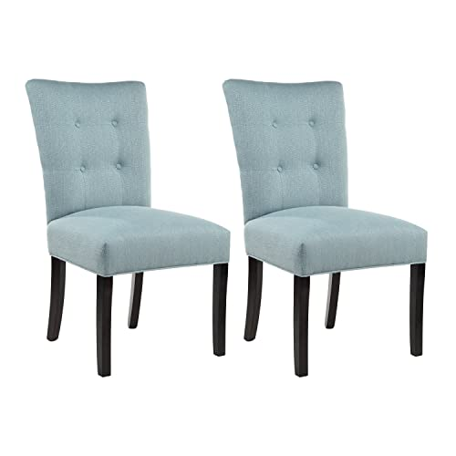 Sole Designs La Mode Collection Fanback Dining Chair, Bay Blue